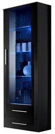 Шкаф-витрина ASM Neo I Black, 60x40x190 см
