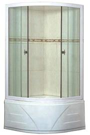 Dušas kabīne Besk BA-PMD, 900x900x1950 mm