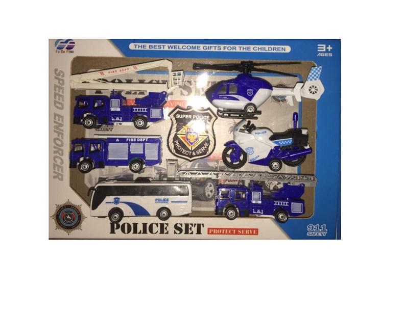 Набор Speed Enforcer Police Set 868-11