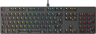 Glorious PC Gaming Race GMMK Full-Size Mechanical Keyboard ISO Black