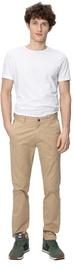 Audimas Tapered Fit Cotton Chino Pants Travertine 184/52