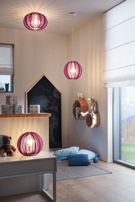 Gaismeklis Eglo Fabella Table Lamp 42W E27 Pink