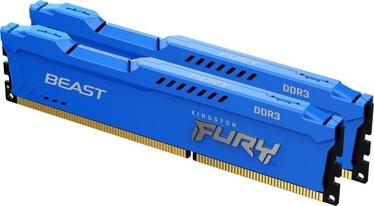 Operatīvā atmiņa (RAM) Kingston FURY Beast, DDR3, 8 GB, 1600 MHz