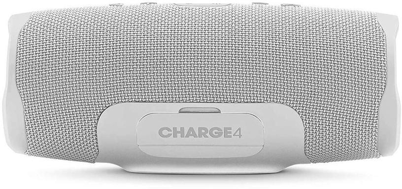 Bezvadu skaļrunis JBL Charge 4, balta, 30 W