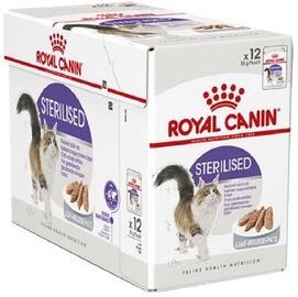 Влажный корм для кошек (консервы) Royal Canin FHN Sterilised In Gravy 85g 12pcs