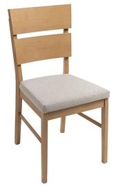 Ēdamistabas krēsls Black Red White Verde, brūna/smilškrāsas