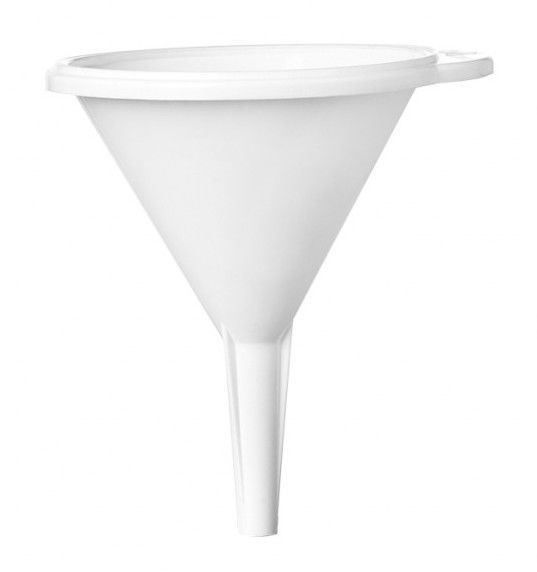 Plast Team Funnel 12.8x12.8x16.5cm White