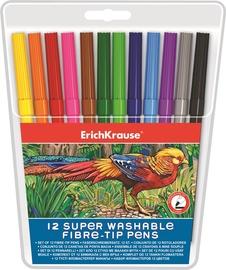 ErichKrause Super Washable Fibre-Tip Pens 33050