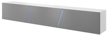 Vivaldi Meble Slant 240 TV Stand White/Grey Gloss