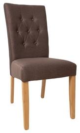 Ēdamistabas krēsls Home4you Queen, brūna