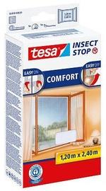 Moskītu tīkls Tesa Insect Stop Hook & Loop Comfort 55918, balta, 2400x1200 mm