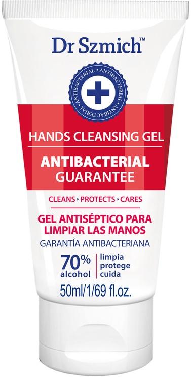Антибактериальный гель Szmich Hands Cleansing Gel, 50 мл