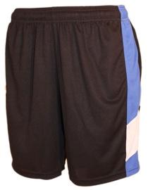 Шорты Bars Mens Football Shorts Black/Blue 191 M