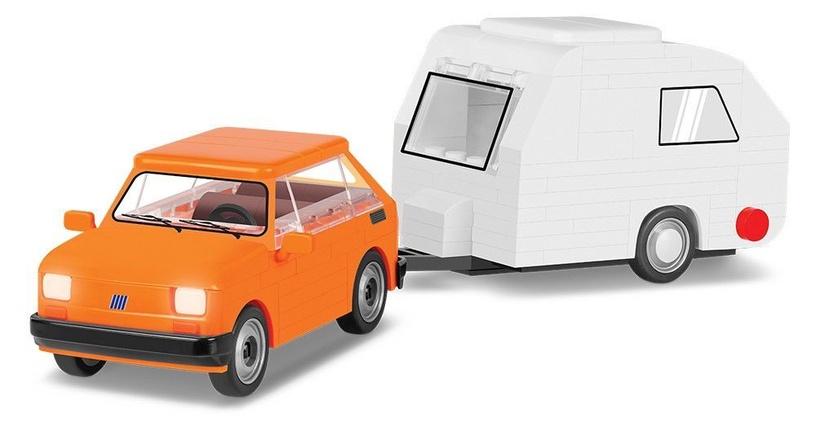 Konstruktors Cobi Constructor Fiat 125el + Caravan 24591