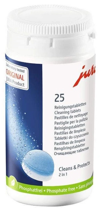 Jura Cleaning Tablets For Coffee Machine 25pcs