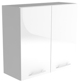 Halmar Kitchen Upper Cabinet Vento G 80/72 White