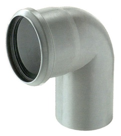 Magnaplast Elbow Pipe Grey 90° 110mm
