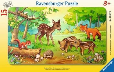 Ravensburger Puzzle Wild Animals 15pcs 063765