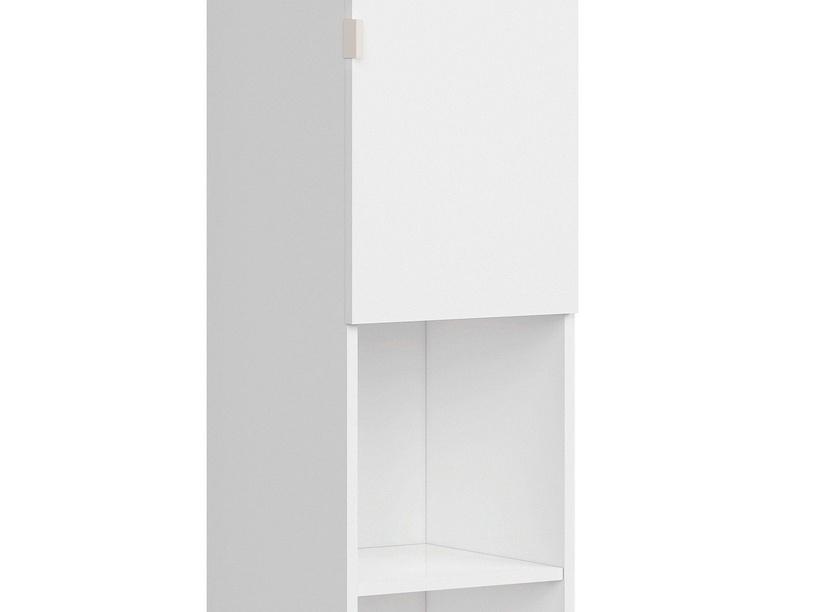 Шкаф Black Red White Princeton REG1D 36x181cm White/Oak/Grey