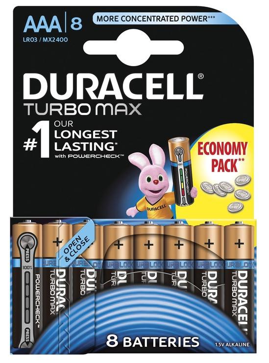 Duracell Turbo AAA LR6 8pcs
