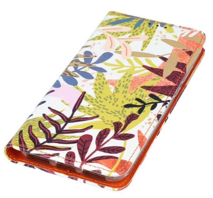 Mocco Smart Trendy Book Case For Samsung Galaxy A6 A600 Leaf