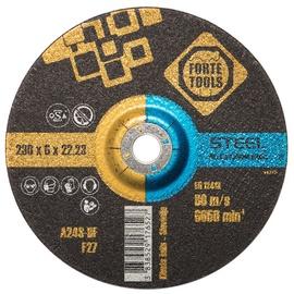 Шлифовальный диск Forte Tools, 230 мм x 22.23 мм