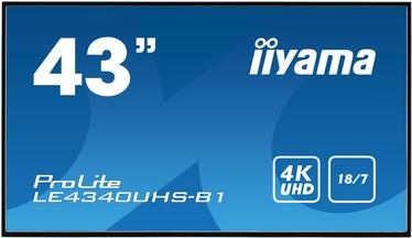 """Monitors Iiyama Prolite LE4340UHS-B1, 42.5"""", 8.5 ms"""