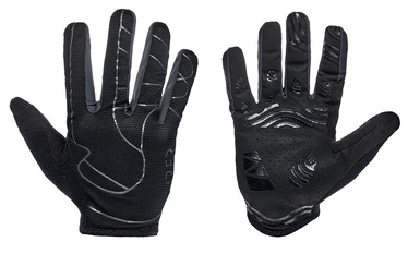 Перчатки Cube RFR Pro Long Finger Black/Anthracite L