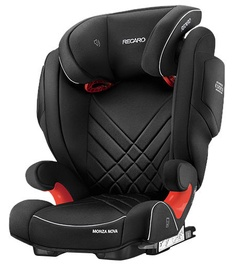 Mašīnas sēdeklis Recaro Monza Nova 2 Seatfix Carbon Black, 15 - 36 kg