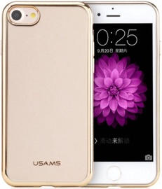 Usams Kim Silicone Back Case For Apple iPhone 7 Transparent/Gold