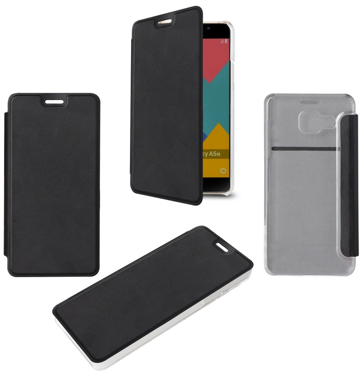 Muvit Flip Cover For Samsung Galaxy A5 A510 Black