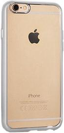 Telone Silicone Back Case For Samsung Galaxy J5 J500F Transparent/Silver