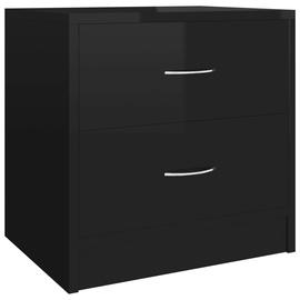 Naktsgaldiņš VLX Bedside Cabinet 801049, melna, 30x40x40 cm