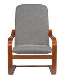 Atzveltnes krēsls Black Red White Ania Grey, 67x74x100 cm