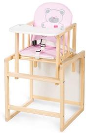 Стульчик для кормления Klups Aga I C4 Pine Pink