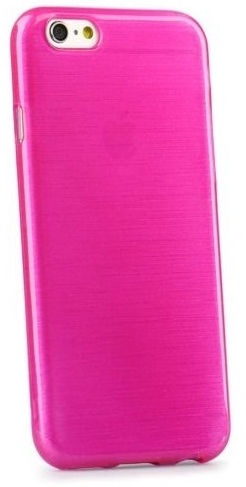 Mocco Jelly Brush Case For Apple iPhone 5/5s/SE Pink