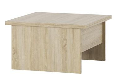 Kafijas galdiņš Szynaka Meble Space 1 Sonoma Oak, 800x800x460 mm