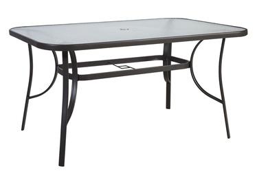 Садовый стол Home4you Dublin 11871, коричневый, 150 x 90 x 70 см