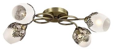 Gaismeklis Verners Romano Ceiling Lamp 4x40W E14 Brass