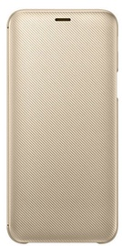 Samsung Wallet Cover For Samsung Galaxy J6 Gold