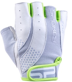 Spokey Zoe II Fitness Gloves Grey/Lime L