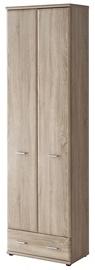 Skapis ASM Armario Type A Sonoma Oak, 60x32x203 cm