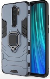 Hurtel Ring Armor Back Case For Xiaomi Redmi Note 8 Pro Blue