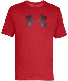 Футболка Under Armour Mens Big Logo T-Shirt 1329583 600 Red L