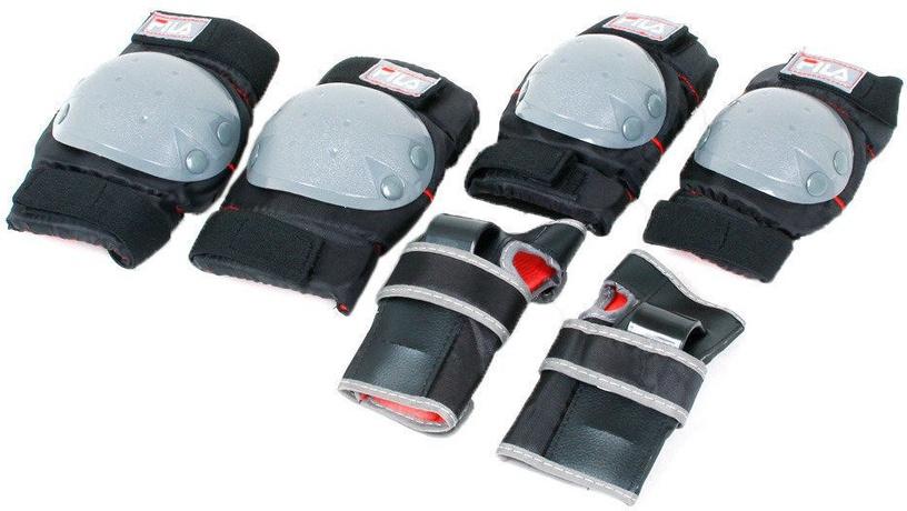 Skrituļslidas Fila J-One Combo 2Set, zila/melna/sarkana, 28-32