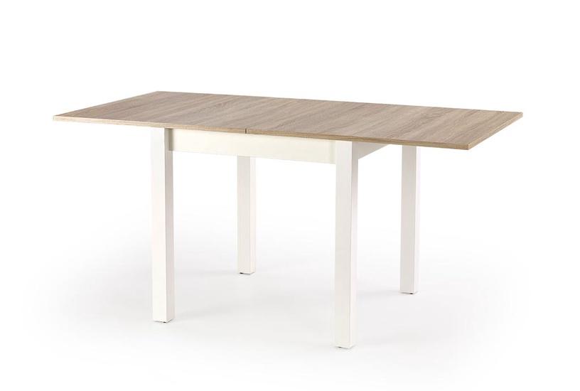 Обеденный стол Halmar Gracjan Alder/White, 800 - 1600x800x760 мм