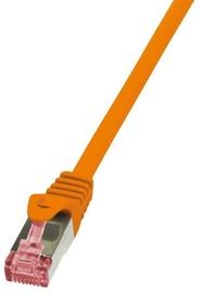 LogiLink CAT 6a S/FTP Cable Orange 7.5m