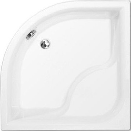 Roth Viki lux Shower Bath 900x900mm White