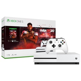Gaming console Xbox One s + NBA 2K20