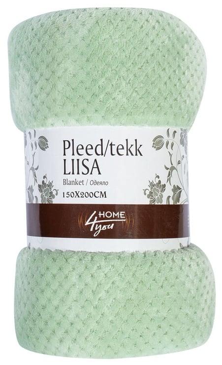 Home4you Liisa Blanket 150x200cm Green